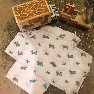 Aden and Anais Baby Blankets